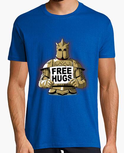 T-shirt Free Hugs by the Mountain