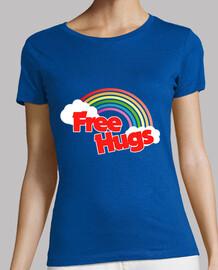 free hugs rétro arc-en-