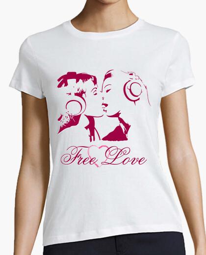 Camiseta Free Love (Amor Libre)