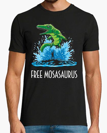 Tee-shirt Free Mosasaurus