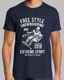 Free Style Snowboarding
