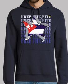 Free The Five (Cuba) - Sudaderas