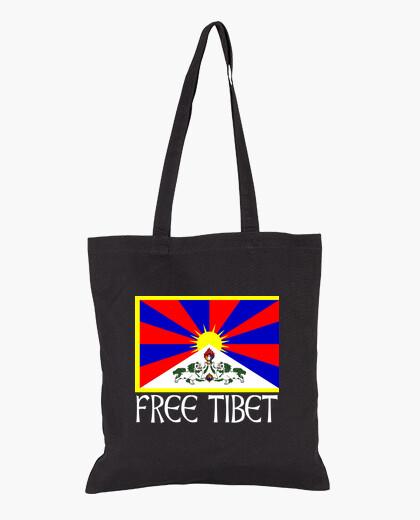Free tibet white bag