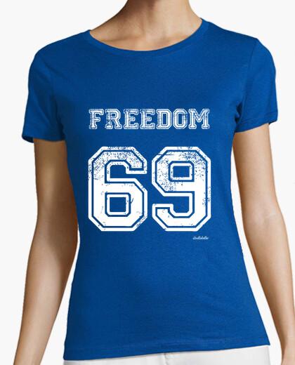 Camiseta Freedom 69 (blanco)