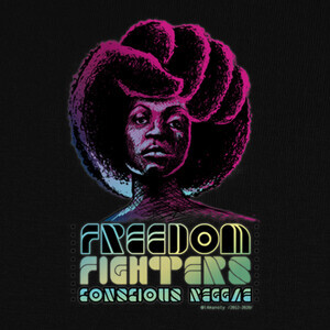 Camisetas Freedom Fighters, Conscious Reggae 2012