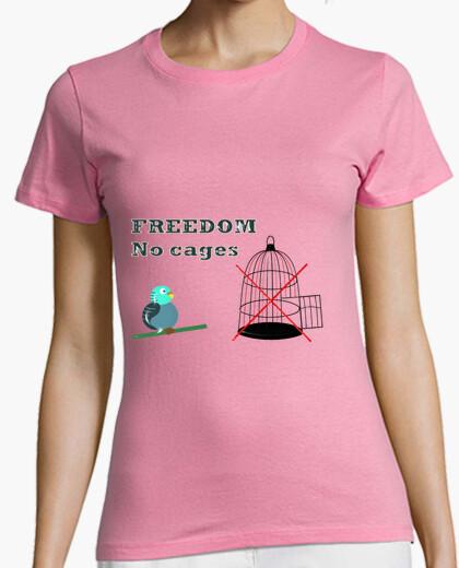Camiseta FREEDOM, NO CAGES