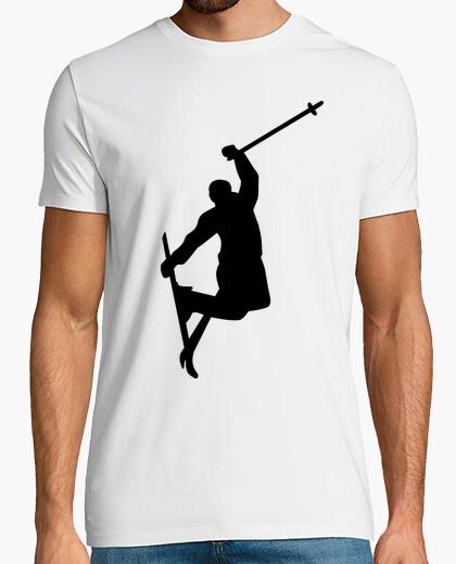 Tee-shirt freestyle saut à ski