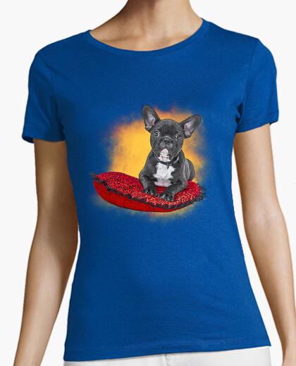 Camiseta Frenchie cojín