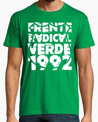 Camiseta Frente Radical Verde 1992