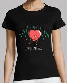 fréquence cardiaque noire