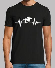 fréquence de course de chevaux