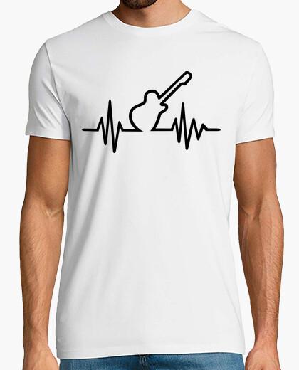 T-shirt frequenza di chitarra elettrica