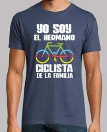 frère cycliste de famille