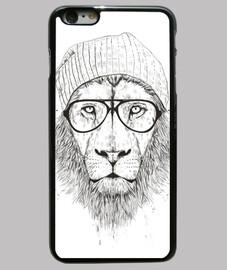 fresco leone (bw)