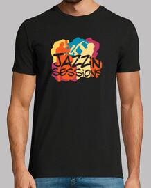 fresco musicisti jazz t-shirt