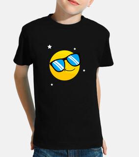 fresco sorriso occhiali da sole emotico