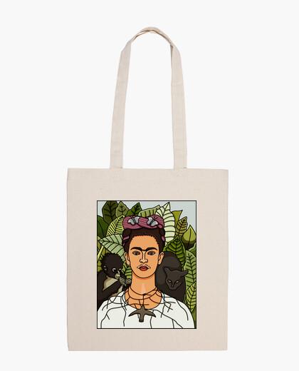 Frida kahlo - morganaart bag