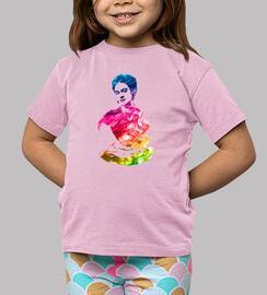 Frida Kahlo arco iris.