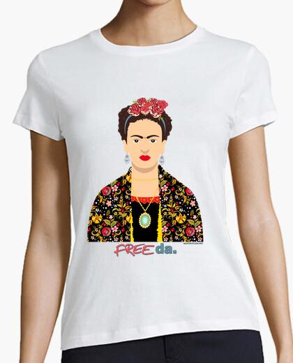 Frida kahlo free da. t-shirt