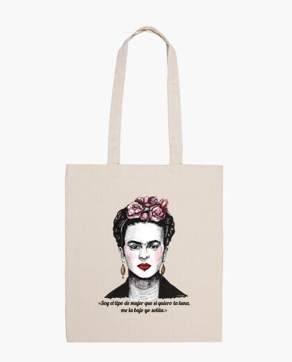Frida Kahlo i am the type of woman  bag