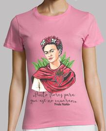 Frida Kahlo Pinto flores...