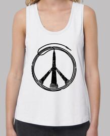 Frieden und Musik (schwarz)