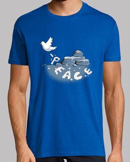 friedens bote (blau)