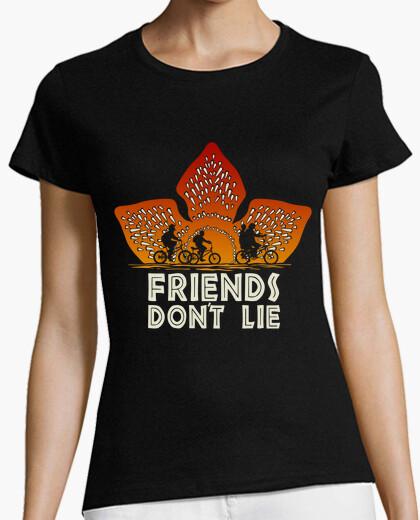 Camiseta Friends don't lie