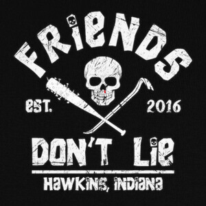 Camisetas Friends don't lie