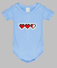 friki corazones // cuerpo bebé / azul