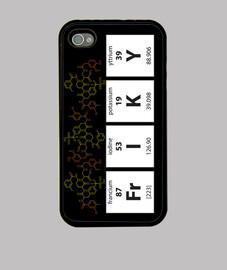 Friki Elements - Funda iPhone 4