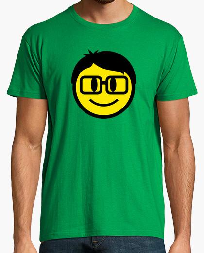Camiseta Friki Smiley