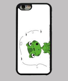frog et mouche