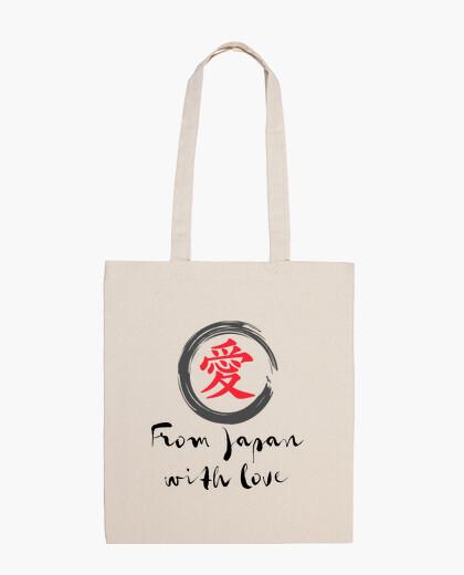 Bolsa FROM JAPAN WITH LOVE (black)