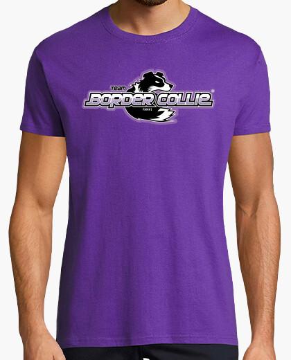 Tee-shirt frontière équipe collie (m)