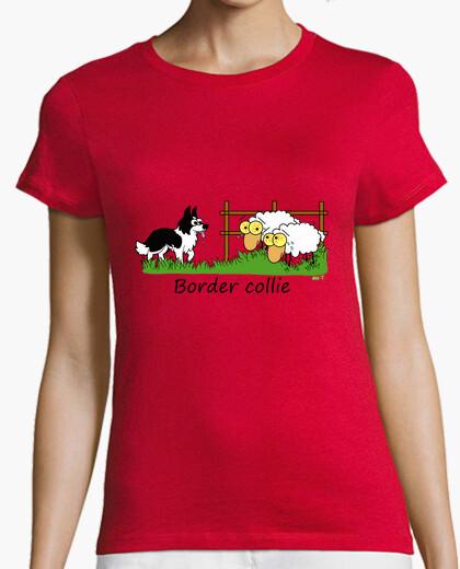 Tee-shirt frontière vs moutons