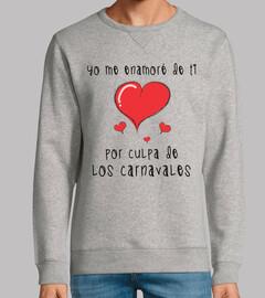 fruit of the loom sweatshirt je suis tombé pour vous