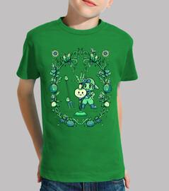 fruta de la luna de la cosecha - camisa de niños
