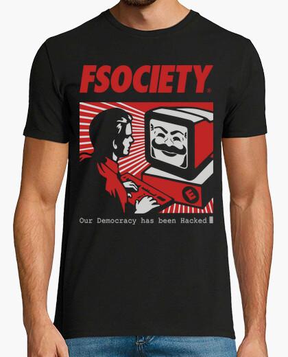 Camiseta fsociety - Mr. ROBOT