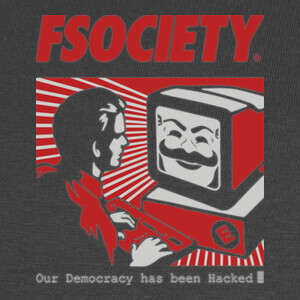 Camisetas fsociety - Mr. Robot