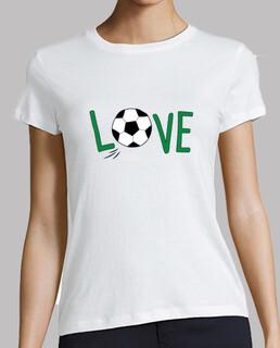 fußball, damen t-shirt