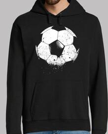 Fußball Fußball-Sport-erodiertes Ziel