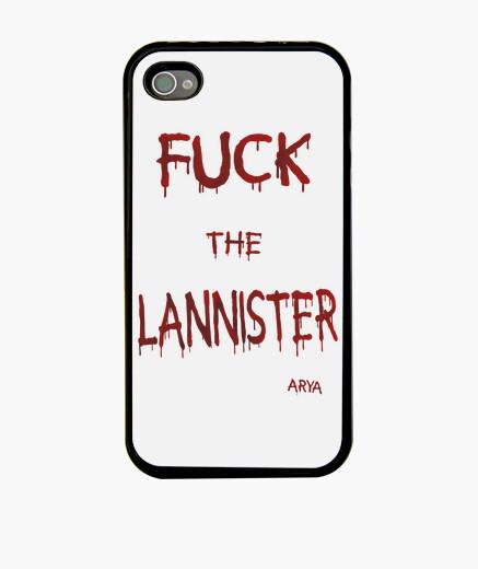 Funda iPhone Fuck the Lannister - Funda móvil