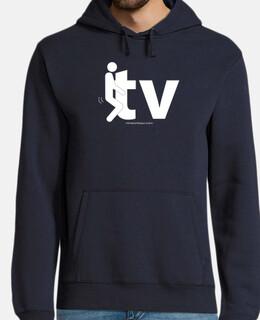 fuck tv sweatshirt (Rémi Gaillard) - men / men