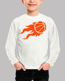fuego de baloncesto