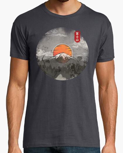 T-shirt fuji vinile