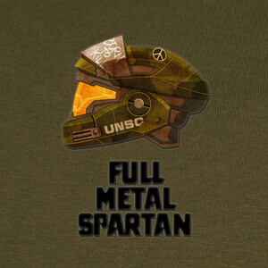 T-shirt full metal espartano
