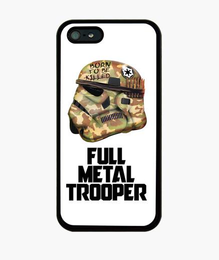 Full metal trooper iphone iphone cases