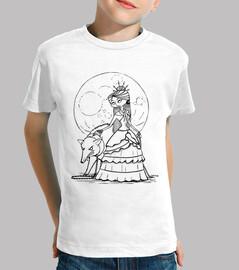 full moon - kids t shirt - t shirt