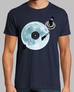 full moon / vinyl / dj / lecteur de dis